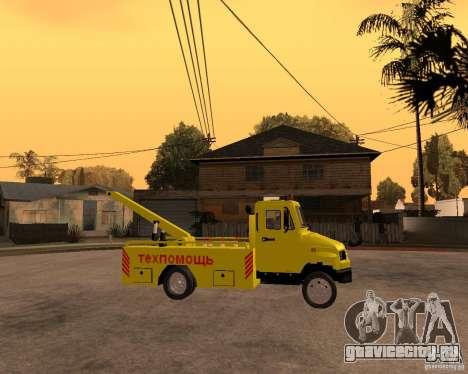 ЗиЛ 5301 Бычок эвакуатор для GTA San Andreas вид справа