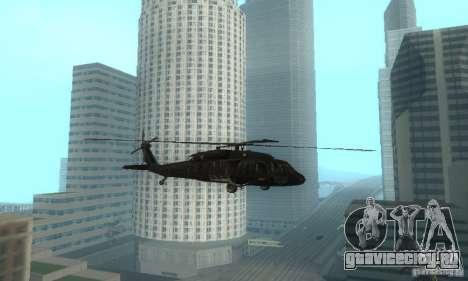 UH-60M Black Hawk для GTA San Andreas вид слева