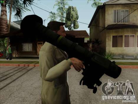 Javelin для GTA San Andreas второй скриншот