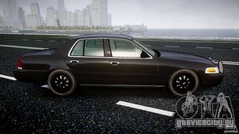 Ford Crown Victoria 2003 v2 FBI для GTA 4 вид изнутри