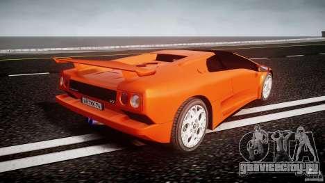 Lamborghini Diablo 6.0 VT для GTA 4 вид сбоку