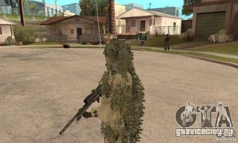 Скин снайпера для GTA San Andreas третий скриншот