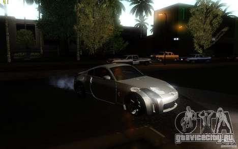 Nissan 350z Speedhunters для GTA San Andreas вид справа