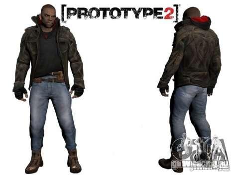 James Heller из Prototype 2 для GTA San Andreas