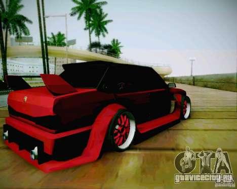 Tofas Dogan SLX DRIFT для GTA San Andreas вид сзади слева