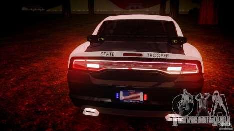 Dodge Charger 2012 Florida Highway Patrol [ELS] для GTA 4 салон