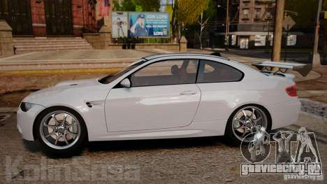 BMW E92 M3 Threep Edition для GTA 4 вид слева