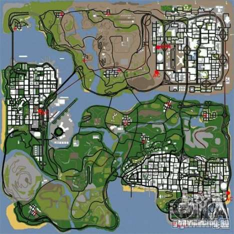 BUSmod для GTA San Andreas второй скриншот