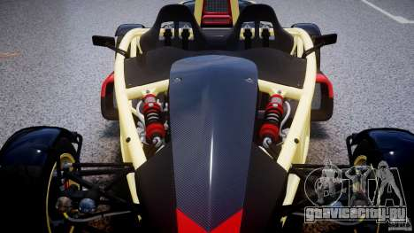 Ariel Atom 3 V8 2012 для GTA 4 вид снизу