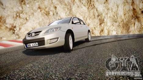 Mazda 3 2004 для GTA 4 двигатель