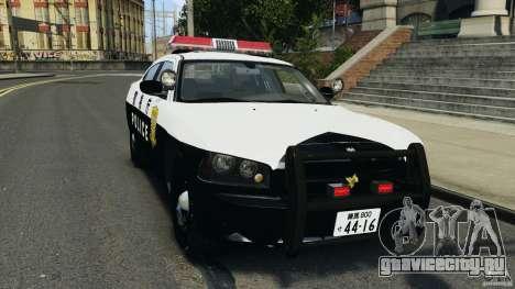 Dodge Charger Japanese Police [ELS] для GTA 4
