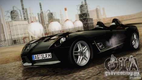 Mercedes-Benz SLR Stirling Moss 2005 для GTA San Andreas вид изнутри