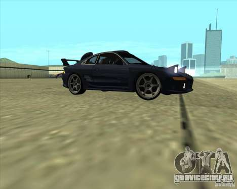 Toyota MR2 1994 для GTA San Andreas вид изнутри