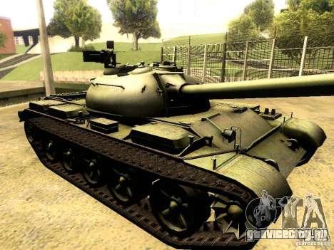Type 59 V2 для GTA San Andreas вид сзади