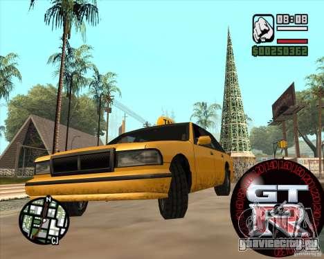 Спидометр GT-R для GTA San Andreas