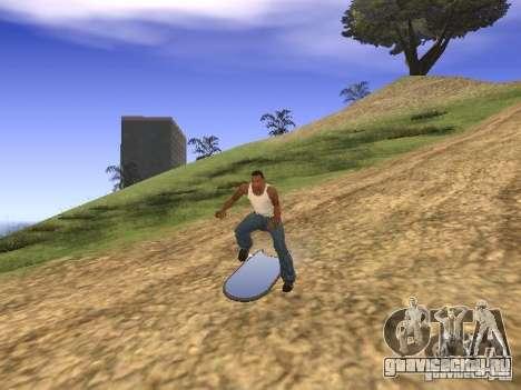 Аэроборд из фильма Назад в будущее 2 для GTA San Andreas вид справа