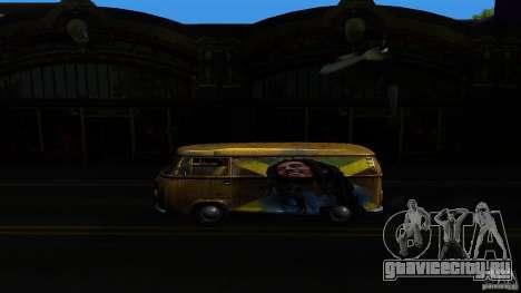 Comb do Bob and Rastaman для GTA San Andreas вид сзади слева