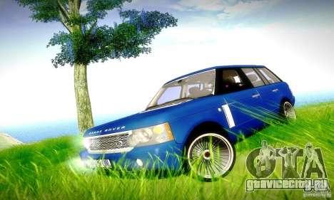 Range Rover Supercharged для GTA San Andreas двигатель