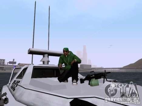 NEW Predator для GTA San Andreas вид сбоку