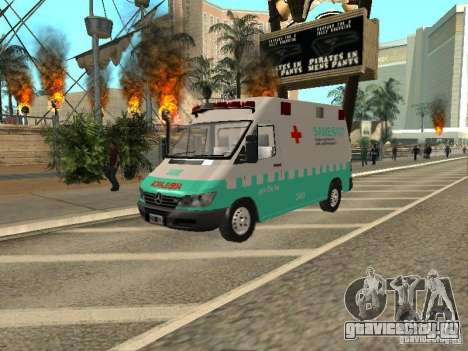 Mercedes Benz Sprinter SAME для GTA San Andreas