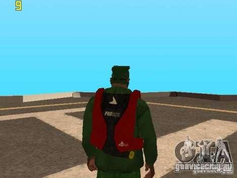 Парашют из TBOGT v2 для GTA San Andreas второй скриншот