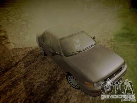 Toyota Corolla для GTA San Andreas вид сбоку