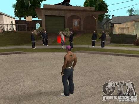 Ballas 4 Life для GTA San Andreas второй скриншот