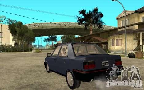 Renault 9 Mod 92 TXE для GTA San Andreas вид сзади слева