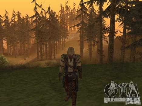 Connor From ACIII для GTA San Andreas второй скриншот
