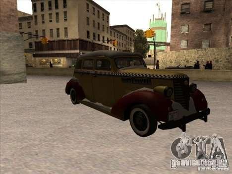 Shubert TAXI из MAFIA 2 для GTA San Andreas вид слева