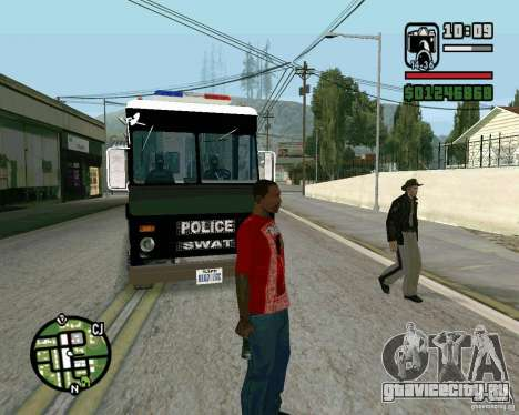 Новый шериф для GTA San Andreas третий скриншот
