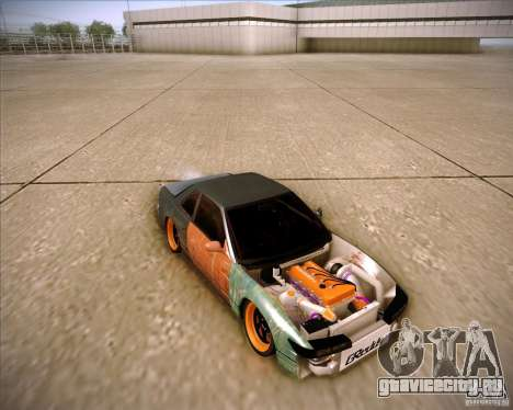 Nissan Silvia S13 Under Construction для GTA San Andreas вид снизу