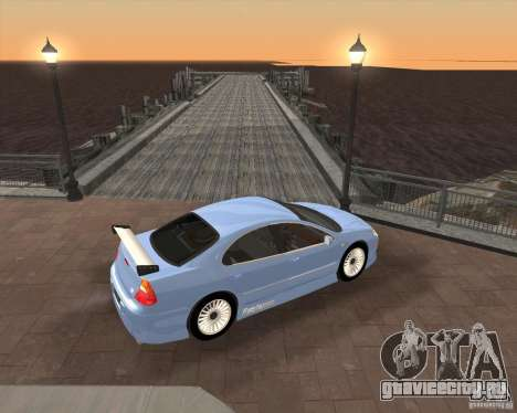 Chrysler 300M tuning для GTA San Andreas вид сзади слева