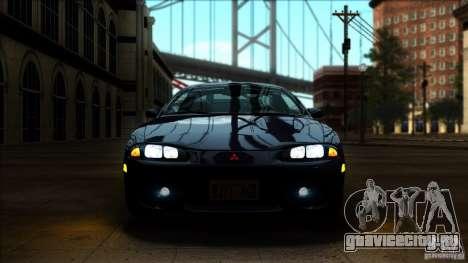 Mitsubishi Eclipse GSX 1999 для GTA San Andreas вид справа