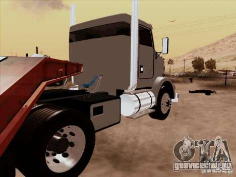 Kenworth T800 Econom для GTA San Andreas вид сзади слева