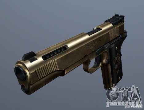 Golden 1911 для GTA San Andreas второй скриншот
