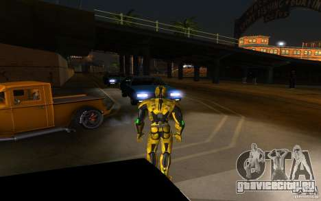 Cyrax 2 из Mortal kombat 9 для GTA San Andreas второй скриншот