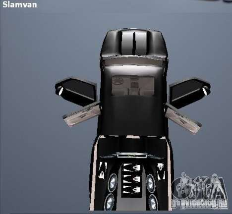 Chevrolet Suburban для GTA San Andreas вид сбоку
