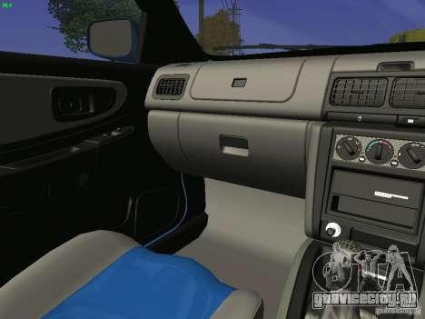 Subaru Impreza 22b Tunable для GTA San Andreas вид сбоку
