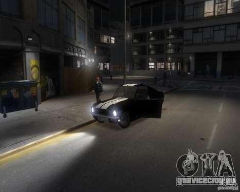 Ford Mustang Tokyo Drift для GTA 4 вид сбоку