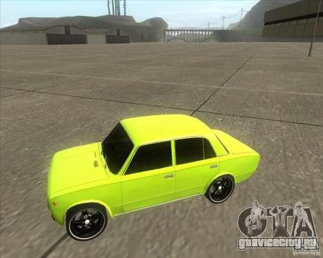 ВАЗ 2101 tuning version для GTA San Andreas вид сзади слева