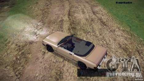 Feltzer HD для GTA San Andreas вид сзади слева