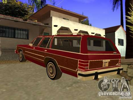 Mercury Grand Marquis Colony Park для GTA San Andreas вид слева