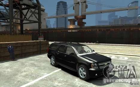 Chevrolet Suburban 2008 (beta) для GTA 4 вид сзади
