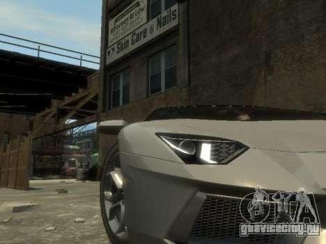 Lamborghini Aventador LP700-4 EPM для GTA 4 вид сбоку
