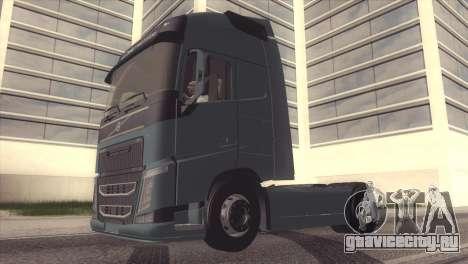 Volvo FH 2013 для GTA San Andreas вид изнутри