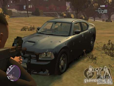 Dodge Charger SRT8 2007 FBI для GTA 4