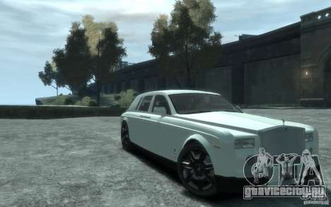 Rolls-Royce Phantom для GTA 4 вид изнутри