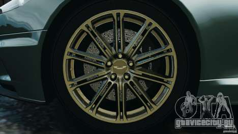 Aston Martin DBS Volante [Final] для GTA 4 вид сверху