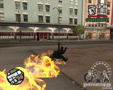 Ghost Rider для GTA San Andreas пятый скриншот